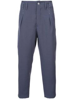 брюки с заниженным шаговым швом Oamc