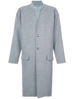однобортное пальто John Elliott
