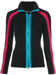 спортивная куртка с контрастными полосками Marc Cain