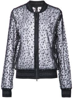 куртка с вышивкой звезд Marc Cain