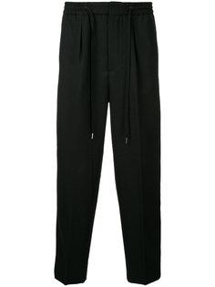 спортивные брюки с завязками на талии monkey time