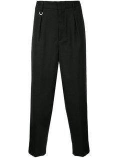 классические плиссированные брюки monkey time