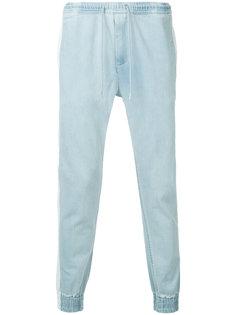 зауженные брюки с завязками на талии monkey time