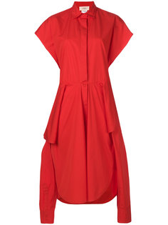 асимметричное платье-рубашка в стиле оверсайз Ports 1961
