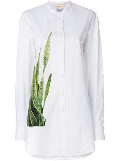 рубашка с узким воротником и принтом  Ports 1961