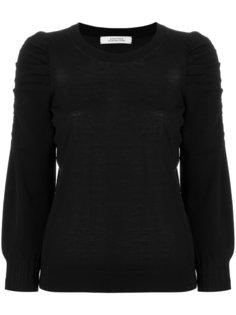 свитер со сборками на рукавах Dorothee Schumacher