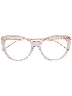 очки в оправе кошачий глаз Boucheron