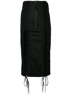 юбка со шнуровкой KTZ