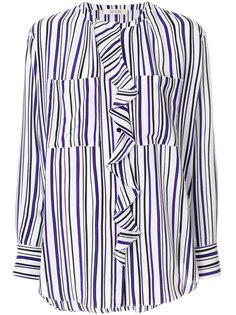 полосатая блузка с оборками Dorothee Schumacher