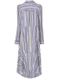 полосатой платье с длинными рукавами Dorothee Schumacher