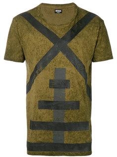 футболка с геометрическим принтом Newams