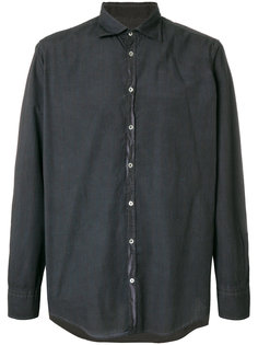 рубашка с потертой отделкой Massimo Alba