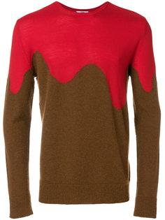 свитер с контрастными панелями Cmmn Swdn