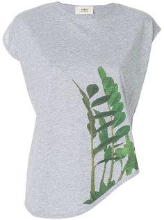 асимметричная футболка с принтом  Ports 1961