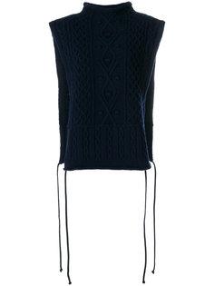 свитер без рукавов с высоким воротом  Ports 1961