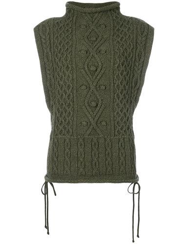 свитер с высокой горловиной без рукавов Ports 1961
