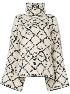 объемный свитер с высокой горловиной Ports 1961