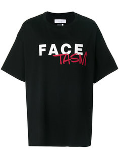 футболка с логотипом Facetasm