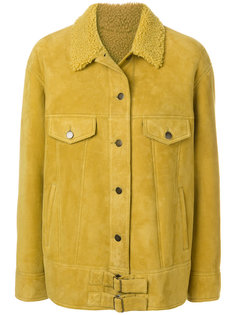 куртка мешковатого кроя на пуговицах Meteo By Yves Salomon