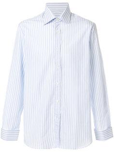 полосатая приталенная рубашка Canali