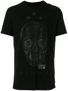 футболка с принтом черепа Philipp Plein