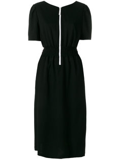 платье с кружевной отделкой Julien David