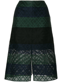 юбка с вышивкой Julien David