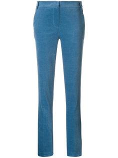 прямые бархатные брюки Tibi