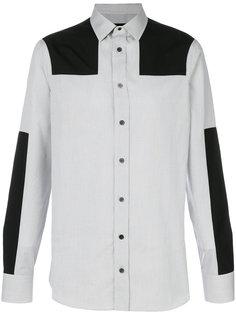 рубашка в мелкую клетку Alexander McQueen
