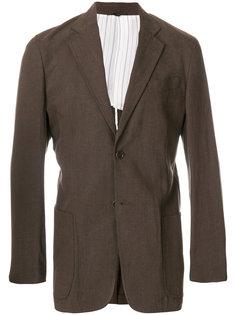 пиджак с застежкой на две пуговицы Armani Collezioni