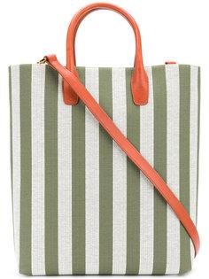 полосатая сумка-шоппер Mansur Gavriel