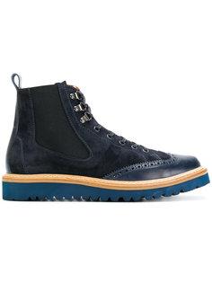 ботинки со шнуровкой и перфорацией  Al Duca D'Aosta 1902