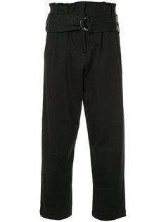 свободные брюки с высокой талией Thom Krom