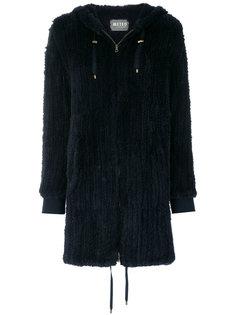 меховое пальто с капюшоном Meteo By Yves Salomon