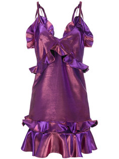 короткое платье с оборками Kenzo