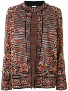 пиджак с вышивкой  M Missoni