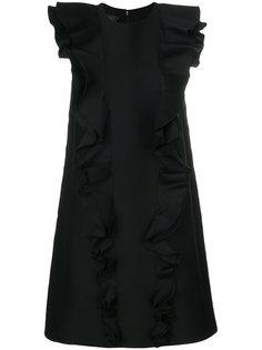 платье шифт с оборками Giambattista Valli