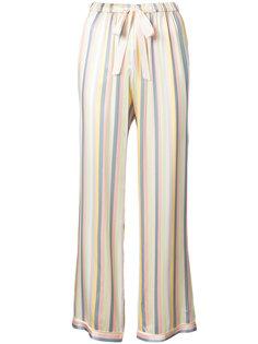 полосатые пижамные брюки Chanti   Morgan Lane
