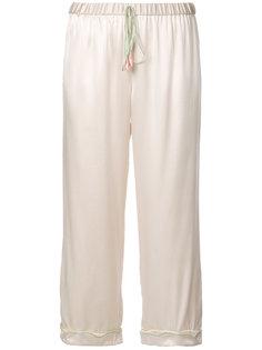 брюки Petal Morgan Lane
