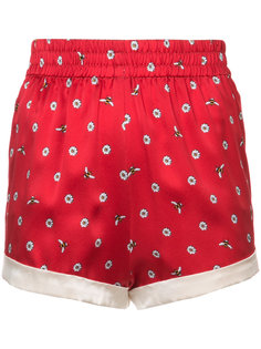 шорты с вышивкой маргариток Chloe Morgan Lane