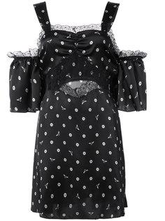 daisy bee embroidered Jojo slip dress Morgan Lane
