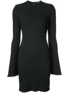 платье-джемпер в рубчик Ellery