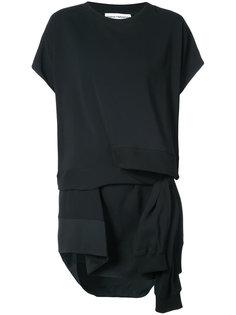 асимметричное платье-свитер Paco Rabanne