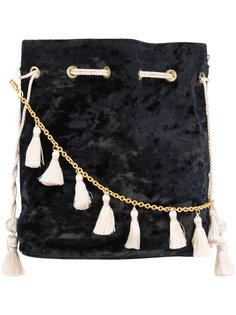 сумка через плечо с кисточками Kayu