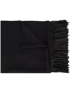 меховой шарф с бахромой A Peace Treaty