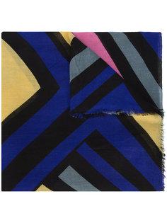 шарф с панельным дизайном A Peace Treaty