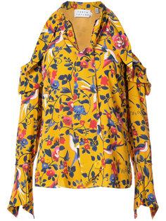 блузка Adriene с цветочным принтом  Tanya Taylor