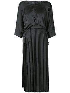 длинное платье с V-образным вырезом Rachel Comey