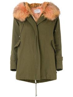 пальто в стиле милитари New Gala Forte Couture