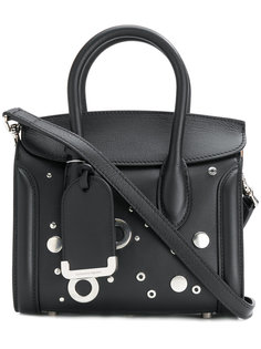 декорированная сумка-тоут с люверсами Alexander McQueen